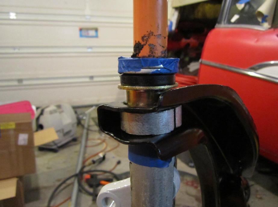 55-57 upper/lower control arm bushing R&R tools - TriFive